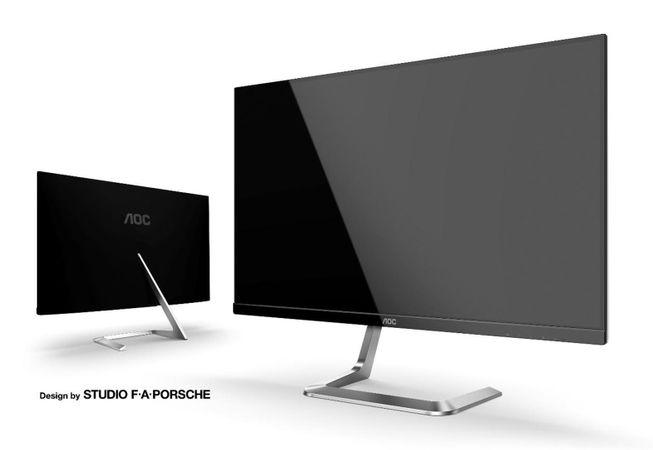 herný monitor AOC Q27T1 (Q27T1/BK) stojan káble porsche