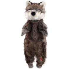 Dog Fantasy Hračka Skinneeez vlk plyšový 50 cm