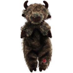 Dog Fantasy Hračka Skinneeez bizon plyšový 34 cm