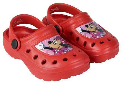 Disney dievčenské sandále MINNIE 2300004328/29 červená