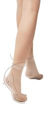 Fiore Dámské ponožky Fiore Body Care massage M 1100 20 den