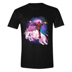 Tričko Deadpool - Space Unicorn
