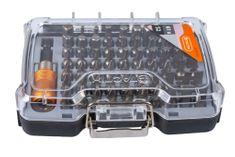 Tactix Sada bitů s držákem, 61 ks - TC418159 | Tactix