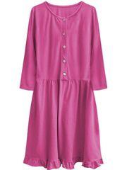Amando Dámské oversized šaty 305ART, ružové