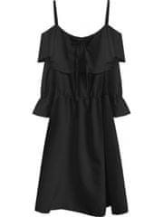 Amando Čierne dámske šaty 348ART
