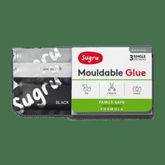 Sugru Černá Bílá Šedá 3x5g Family Safe Retail EN Pack