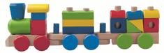 Woody Woody Dřevěný skládací nákladní vlak - dva vagony