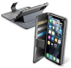 CellularLine Pouzdro typu kniha Book Agenda pro Apple iPhone 11 Pro, černé (BOOKAGENDAIPHXIK)