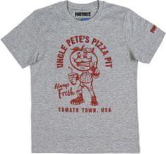 Disney fantovska majica Fortnite, siva