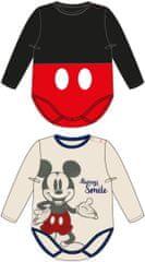Disney detské body 2pack MICKEY MOUSE