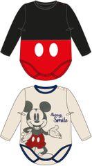 Disney dječji bodi Mickey Mouse, 2 komada