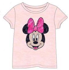 Disney dievčenské tričko s flitrovou aplikáciou MINNIE