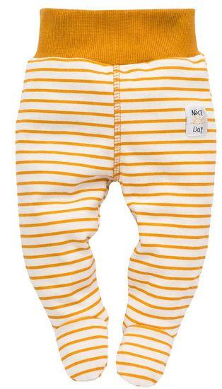 PINOKIO dievčenské polodupačky NICE DAY 74 žlté