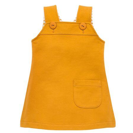 PINOKIO sukienka dziewczęca NICE DAY 62 żółta