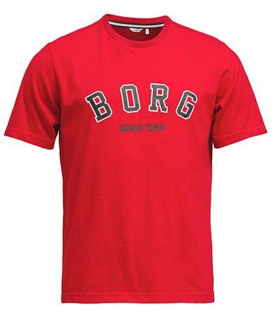 Björn Borg Férfi póló Tee Borg Sport 1941-1064-40441 Jester Red (méret M)