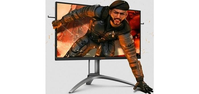 herní monitor AOC AG273QXP (AG273QXP) QHD zorné úhly 16,7 milionu barev jemný obraz