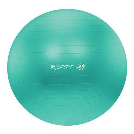 LIFEFIT gimnastična žoga Antiburst - 65 cm, turkizna