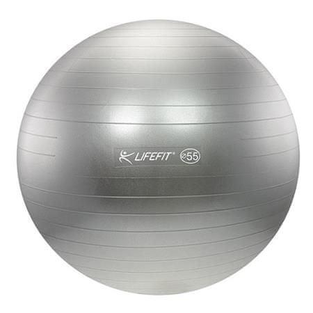 LIFEFIT gimnastična žoga Antiburst - 85 cm, siva