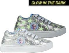 Disney dievčenské tenisky svietiace v tme FROZEN 2 2300004351