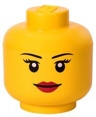 LEGO Úložná hlava (veľkosť L) - dievča