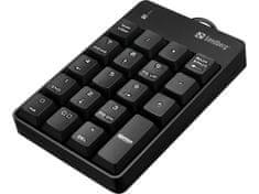 Sandberg numerická klávesnice, USB (630-07)