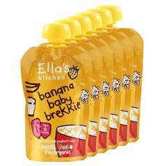 Ella's Kitchen Snídaně - Banán a jogurt 6 x 100g