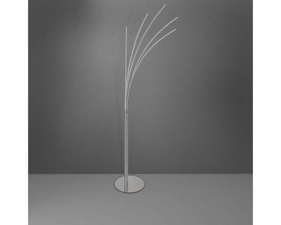 WOFI WOFI Stojací lampa BENETT 5x LED 24 W chrom WO 3557.05.01.0000