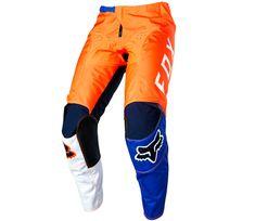 Fox kalhoty 180 Lovl orange/blue