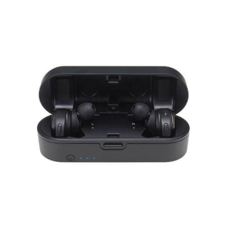Audio-Technica ATH-CKR7TW brezžične slušalke, črne - Odprta embalaža