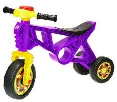 Mikro Trading Odrážedlo motorka s klaksonem fialová