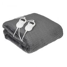 Camry CR7417 pokrivač za grijanje s timerom, 150 x 160 cm