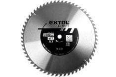 EXTOL Pilový kotouč s SK plátky 600x30mm 60 zubů Extol Craft