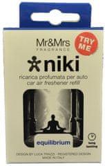 Mr&Mrs Fragrance Niki Equilibrum náhradní náplň