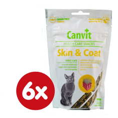 Canvit Snack CAT Skin & Coat 6 x 100g
