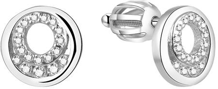 Beneto Srebrni svetleči uhani AGUP1426S srebro 925/1000