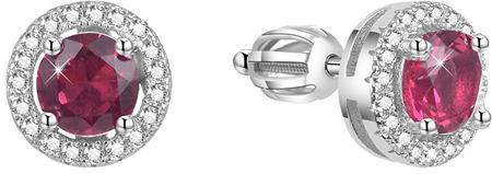 Beneto Ezüst fülbevalók cirkóniával AGUP1611S ezüst 925/1000