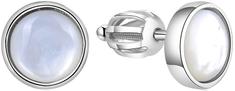 Beneto Stříbrné náušnice s perletí AGUP1651S stříbro 925/1000