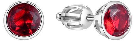 Beneto Ezüst fülbevalók csillogó cirkonnal AGUP1717S ezüst 925/1000