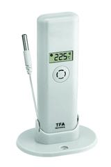 TFA 30.3313.02 Bezdrôtové čidlo teploty s teplotnou káblovou sondou