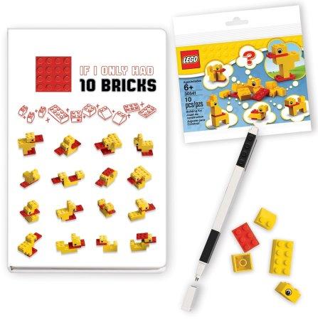 LEGO Stationery Classic Kaczki - notatnik z długopisem