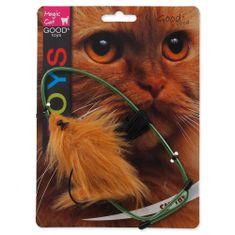 Magic cat Hračka myška závěsná na dveře plyšová mix