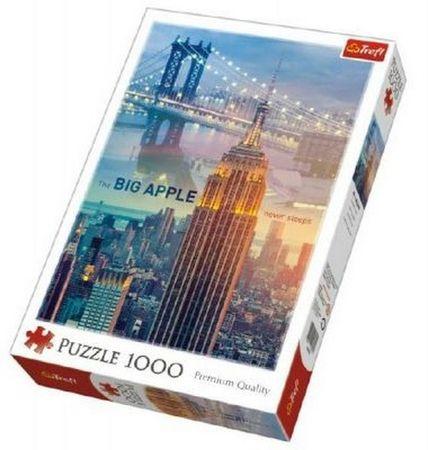 Trefl Puzzle New York při svítání 1000 dílků