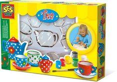 SES Malování čajové soupravy
