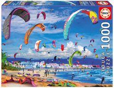 EDUCA Puzzle 1000 dílků - Kitesurfing