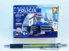 Dromader Stavebnice Dromader Policie Auto 23101, 33 dílků