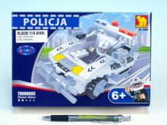 Dromader Stavebnice Dromader Policie Auto 23406