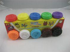 Kids Toys Plastelína 10 xc 50g, rôzne farby