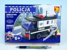 Dromader Stavebnice Dromader Policie Auto Dodávka 23404 127ks