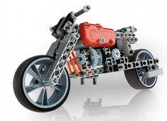 Clementoni Mechanická laboratoř - Motorka a formule, 130 dílků