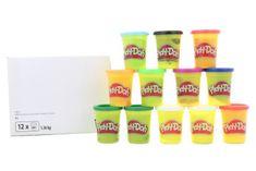 Play-Doh Balení 12ks kelímků zimních barev